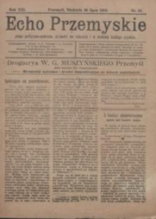 Echo Przemyskie : pismo polityczno-społeczne. 1916, R. 21, nr 61 (lipiec)