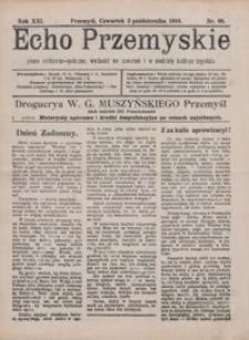 Echo Przemyskie : pismo polityczno-społeczne. 1916, R. 21, nr 88-89, 91-96 (listopad)