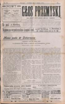 Nowy Głos Przemyski : pismo poświęcone sprawom społecznym, politycznym i ekonomicznym. 1910, R. 9, nr 10-13 (marzec)
