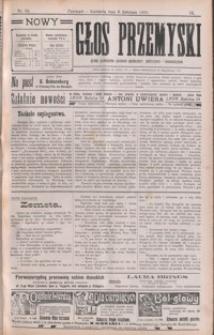 Nowy Głos Przemyski : pismo poświęcone sprawom społecznym, politycznym i ekonomicznym. 1910, R. 9, nr 14-17 (kwiecień)