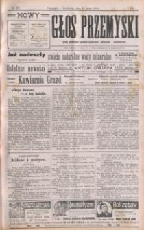 Nowy Głos Przemyski : pismo poświęcone sprawom społecznym, politycznym i ekonomicznym. 1910, R. 9, nr 27-31 (lipiec)