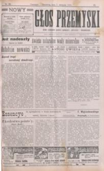 Nowy Głos Przemyski : pismo poświęcone sprawom społecznym, politycznym i ekonomicznym. 1910, R. 9, nr 32-33, 35 (sierpień)
