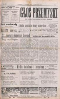 Nowy Głos Przemyski : pismo poświęcone sprawom społecznym, politycznym i ekonomicznym. 1910, R. 9, nr 36-39 (wrzesień)