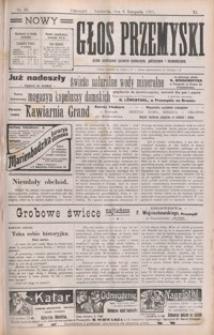 Nowy Głos Przemyski : pismo poświęcone sprawom społecznym, politycznym i ekonomicznym. 1910, R. 9, nr 45-48 (listopad)