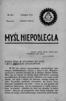 Myśl Niepodległa 1913 nr 260
