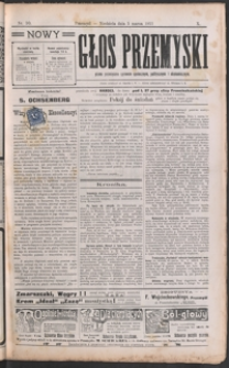 Nowy Głos Przemyski : pismo poświęcone sprawom społecznym, politycznym i ekonomicznym. 1911, R. 10, nr 10-13 (marzec)