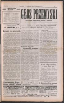 Nowy Głos Przemyski : pismo poświęcone sprawom społecznym, politycznym i ekonomicznym. 1911, R. 10, nr 14-18 (kwiecień)