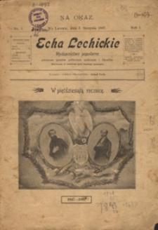 Echa Lechickie 1897, R. 1, nr 1