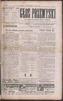 Nowy Głos Przemyski : pismo poświęcone sprawom społecznym, politycznym i ekonomicznym. 1911, R. 10, nr 19-22 (maj)