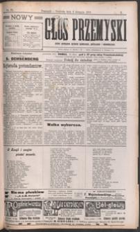Nowy Głos Przemyski : pismo poświęcone sprawom społecznym, politycznym i ekonomicznym. 1911, R. 10, nr 35 (sierpień)