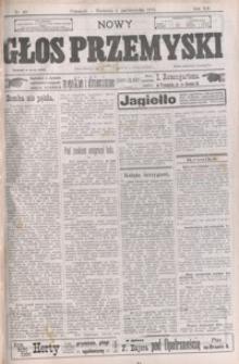 Nowy Głos Przemyski : pismo poświęcone sprawom społecznym, politycznym i ekonomicznym. 1913, R. 12, nr 40-43 (październik)