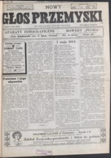 Nowy Głos Przemyski : pismo poświęcone sprawom społecznym, politycznym i ekonomicznym. 1914, R. 13, nr 18-21 (maj)