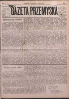 Gazeta Przemyska. 1887, R. 1, nr 6-10 (lipiec)