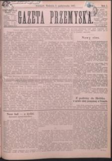 Gazeta Przemyska. 1887, R. 1, nr 19-23 (październik)