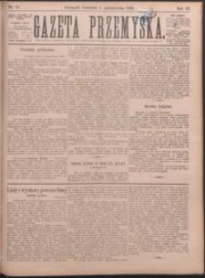 Gazeta Przemyska. 1889, R. 3, nr 70-78 (październik)
