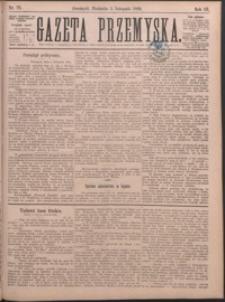 Gazeta Przemyska. 1889, R. 3, nr 79-86 (listopad)