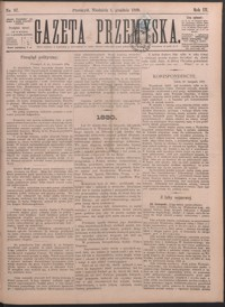 Gazeta Przemyska. 1889, R. 3, nr 87-95 (grudzień)