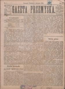 Gazeta Przemyska. 1888, R. 2, nr 1-5 (styczeń)