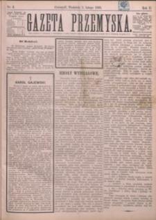 Gazeta Przemyska. 1888, R. 2, nr 6-9 (luty)