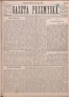 Gazeta Przemyska. 1888, R. 2, nr 19-22 (maj)
