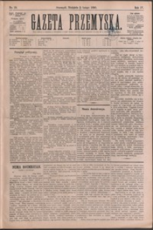 Gazeta Przemyska. 1890, R. 4, nr 10-17 (luty)