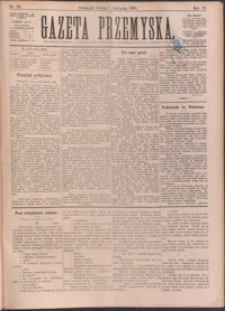 Gazeta Przemyska. 1890, R. 4, nr 88-96 (listopad)