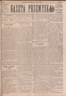 Gazeta Przemyska. 1891, R. 5, nr 45-52 (czerwiec)