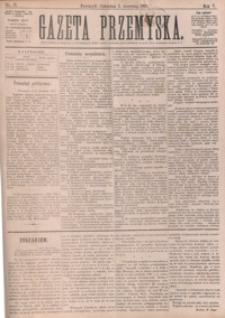 Gazeta Przemyska. 1891, R. 5, nr 71-78 (wrzesień)