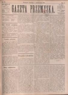 Gazeta Przemyska. 1891, R. 5, nr 79-87 (październik)