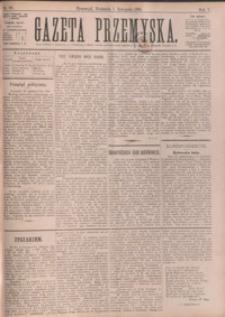 Gazeta Przemyska. 1891, R. 5, nr 88-96 (listopad)