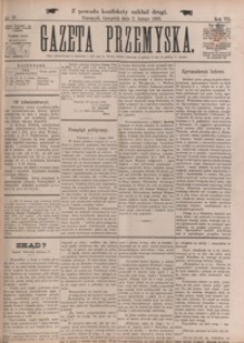 Gazeta Przemyska. 1893, R. 7, nr 10-17 (luty)