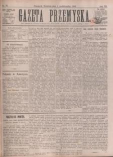 Gazeta Przemyska. 1893, R. 7, nr 79-87 (październik)