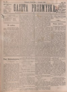 Gazeta Przemyska. 1893, R. 7, nr 88-96 (listopad)