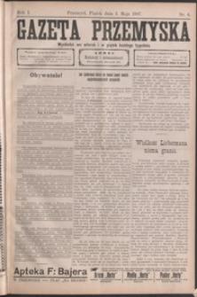 Gazeta Przemyska. 1907, R. 1, nr 6-10 (maj)