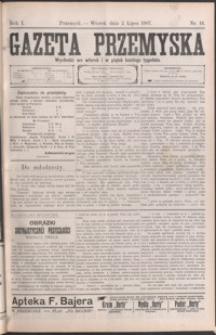 Gazeta Przemyska. 1907, R. 1, nr 16-24 (lipiec)