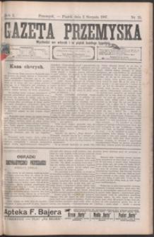 Gazeta Przemyska. 1907, R. 1, nr 25-33 (sierpień)