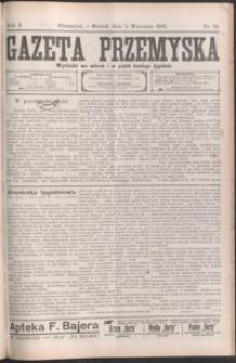 Gazeta Przemyska. 1907, R. 1, nr 34-41 (wrzesień)