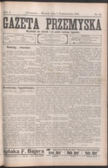 Gazeta Przemyska. 1907, R. 1, nr 42-50 (październik)