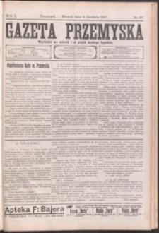 Gazeta Przemyska. 1907, R. 1, nr 60-68 (grudzień)