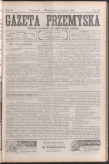 Gazeta Przemyska. 1908, R. 2, nr 10-17 (luty)