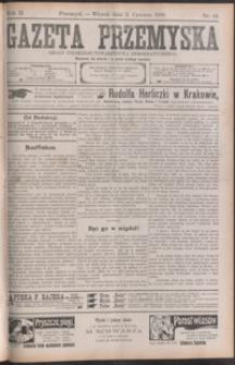 Gazeta Przemyska : organ Polskiego Towarzystwa Demokratycznego. 1908, R. 2, nr 44-52 (czerwiec)