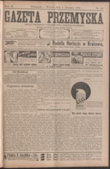 Gazeta Przemyska : organ Polskiego Towarzystwa Demokratycznego. 1908, R. 2, nr 62-69 (sierpień)