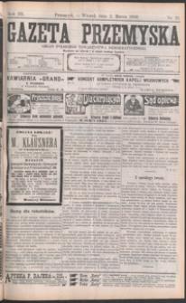 Gazeta Przemyska : organ Polskiego Towarzystwa Demokratycznego. 1909, R. 3, nr 18-26 (marzec)