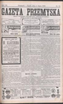 Gazeta Przemyska : organ Polskiego Towarzystwa Demokratycznego. 1909, R. 3, nr 53-61 (lipiec)