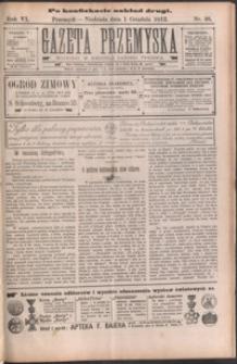 Gazeta Przemyska : organ Polskiego Towarzystwa Demokratycznego. 1912, R. 6, nr 48, 50-52 (grudzień)