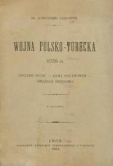 Wojna polsko-turecka 1675 r.