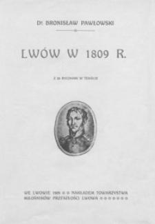 Lwów w 1809 r.