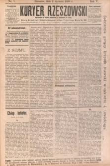 Kuryer Rzeszowski. 1898, R. 5, nr 1