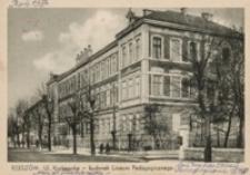 Rzeszów. Ul. Krakowska - budynek Liceum Pedagogicznego [Pocztówka]
