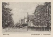 Rzeszów. Ulica Krakowska = Krakauergasse [Pocztówka]